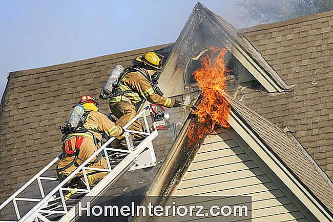 House Fire Attic