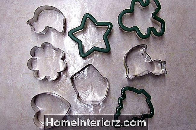 Sprayed Cookie Cutters för fågelskivor