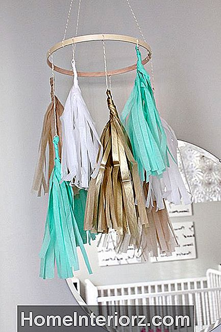 Tissue Tassel Mobile