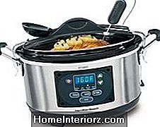 Hamilton Beach Set 'n Glöm Programmerbar Slow Cooker With Temperature Probe, 6-Quart (33967A)