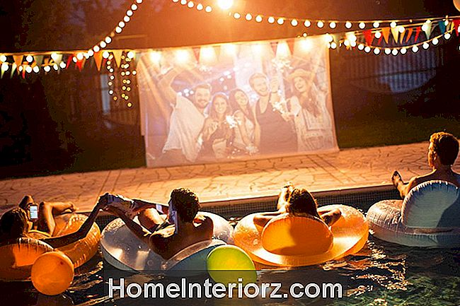 Pool Party Movie Night
