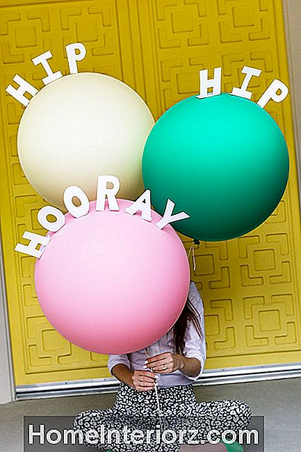 DIY Message Balloons