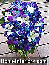 Blå Teardrop Bouquet