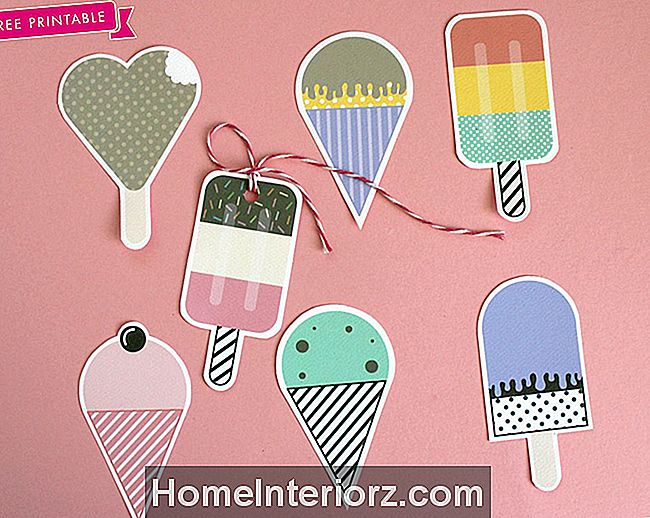 Ice Cream Party DIY Idéias