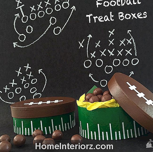 DIY jalgpalli Treat Box