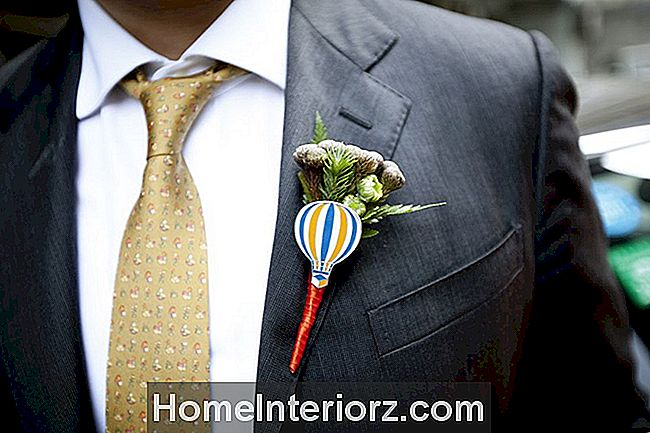 Hot Air Balloon Boutonniere