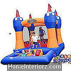 Pilt Blast Zone Ball Kingdomi Jump Castle Bounce House'ist