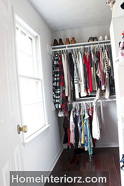 Plain Bedroom Closet