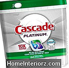 Cascade Platinum ActionPacs Lavastoviglie Detergente Fresh Scent 64 Count-Old version