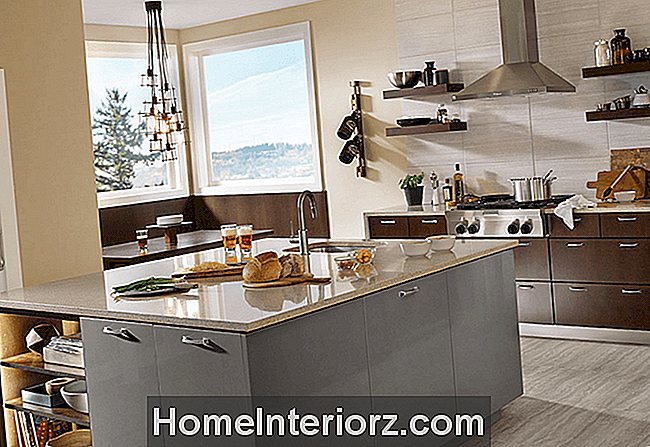 KraftMaid Modern Grey Kitchen