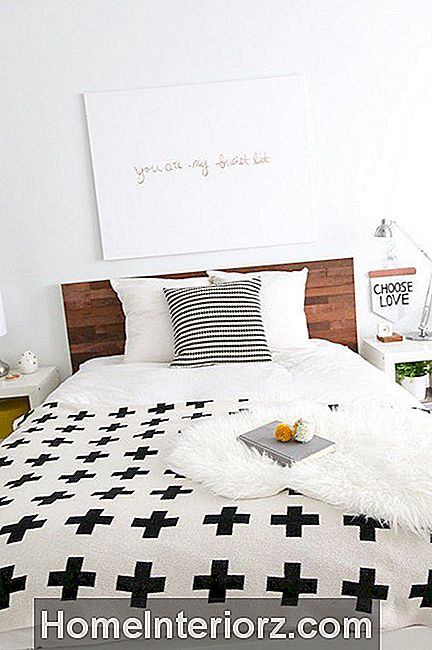 DIY Wood Headboard Hack