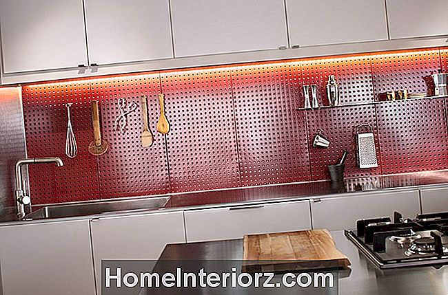 Pegboard-Kitchen-Backsplash