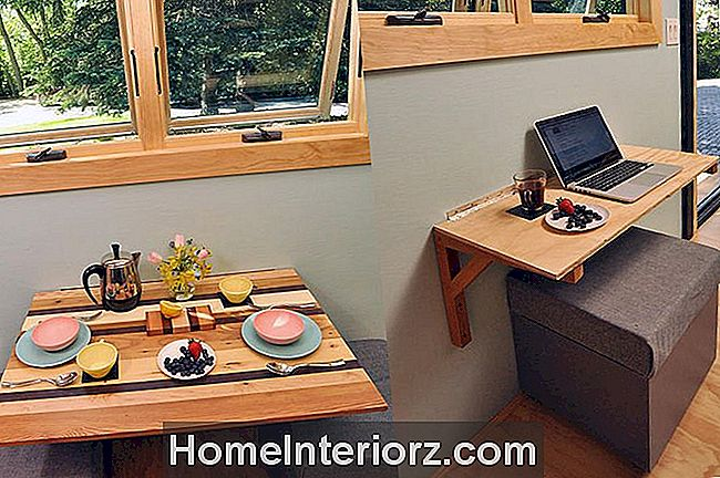 Folding-Wall-Mounted-Kitchen-Table
