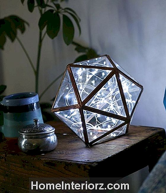string light diy dorm dekor