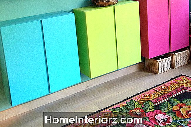 Colorful-Ikea-Ivar-Entryway