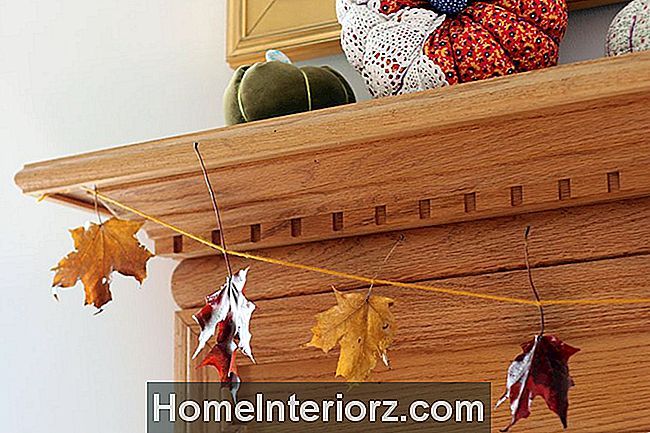 Konserverade-Fall-Leaves-Mantel
