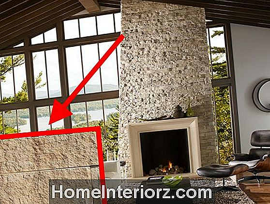 Dry Stacked Stone Fireplace Surrounds