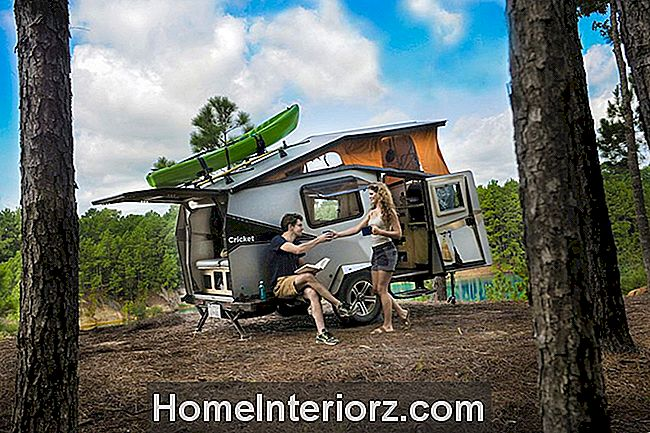 En Cricket Camper Trailer