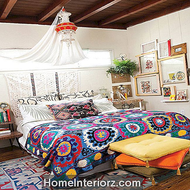 Vackra Boho Bedroom Decorating Ideas