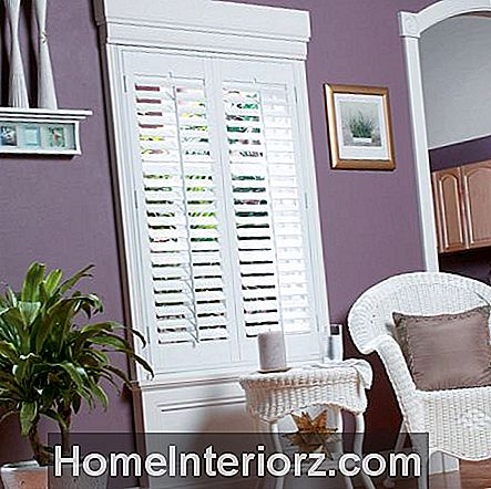 Whole Space White Fauxwood Shutters