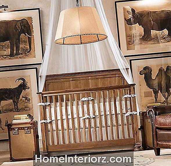 Safari-Themed Nursery
