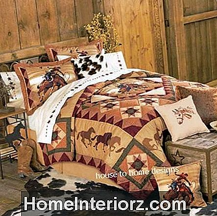 Country Cowboy Quilt Set