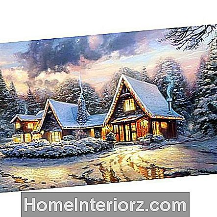 Lodge Christmas Lodge door Thomas Kinkade