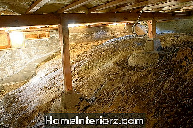 Crawlspace Under House - 157191299