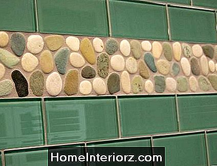 Sage Green Glass Subway Kakel Backsplash