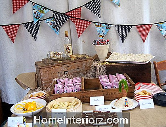 Kids Pirate-Themed Party Ideas