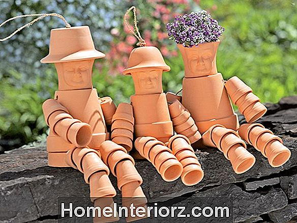 Wie man Clay Pot Fountains (2-Tiered) macht