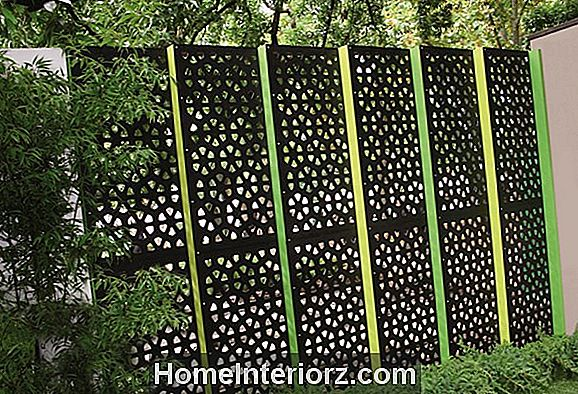 Outdoor Privacy Screens: Ideen und Bilder