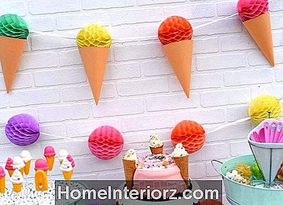 Ice Cream Party DIY ideed