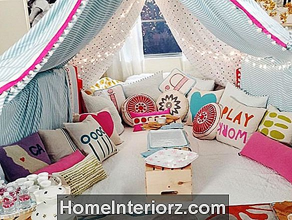 Slumber Party Dekorating Ideas