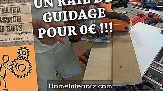 Comment faire un guide de scie