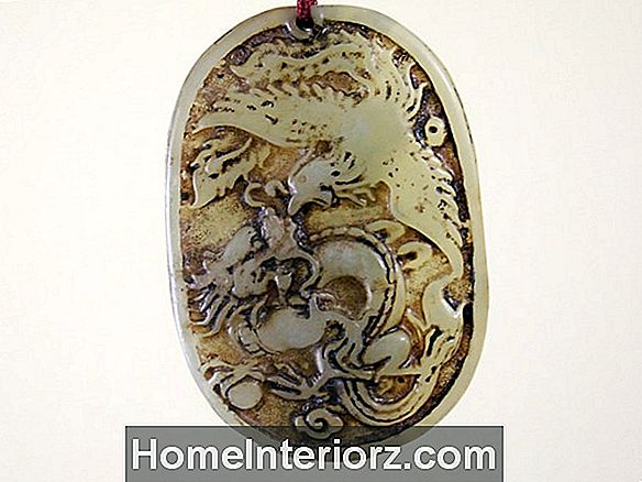 Dragon e Phoenix Harmonious Marriage Feng Shui Symbol