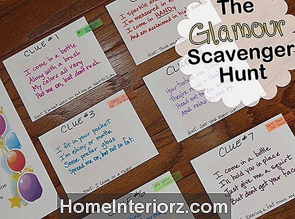 Scavenger of Treasure Hunts for Kids