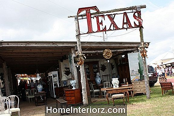 Marburger Farm Antique Show i Round Top, Texas
