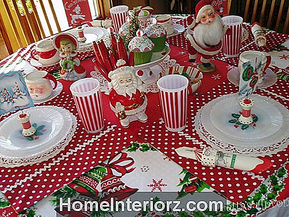 22 Pretty Christmas Table Decorations & Instellingen