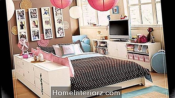 Teenage Bedroom Ideas voor Small Rooms