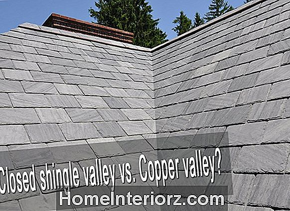 Closed Valley vs Open Valley Roofing Construction