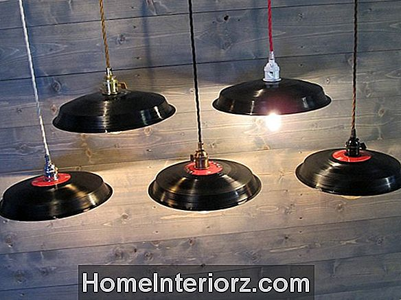 21 Upcycled Lighting DIY Idéer