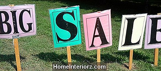 Do's and Don'ts of Advertising en Yard Sale