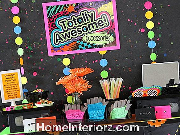 Kids 1980s Party Activities