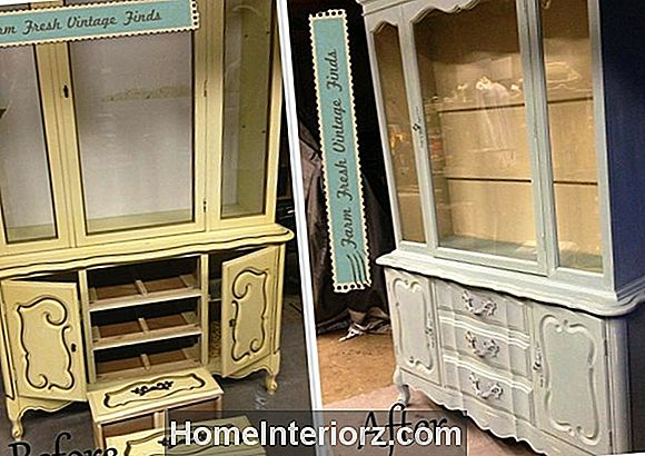 Chicken Wire Cabinet Door Makeover