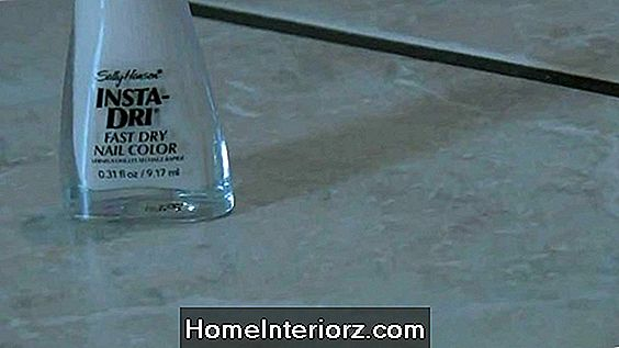 Fixing Marble Tile Grout Lines