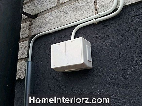 Installera jordfelsbrytare interupter Outlets - GFCI: s