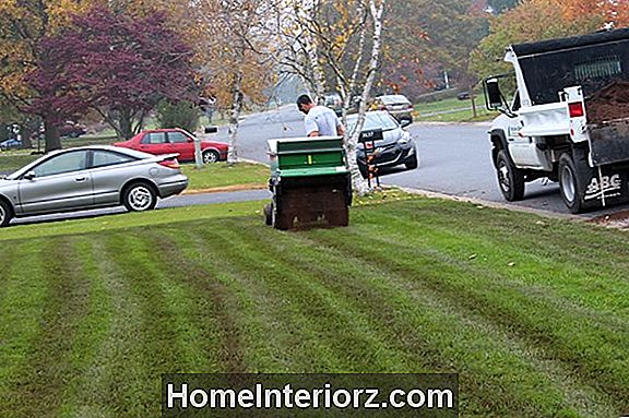 Topdressing the Lawn