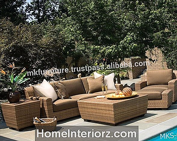 En guide till Wicker Outdoor Furniture